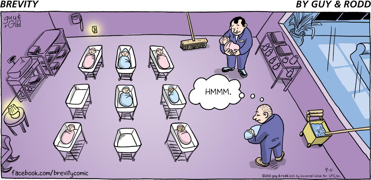 Brevity Comic Strip for September 11, 2011