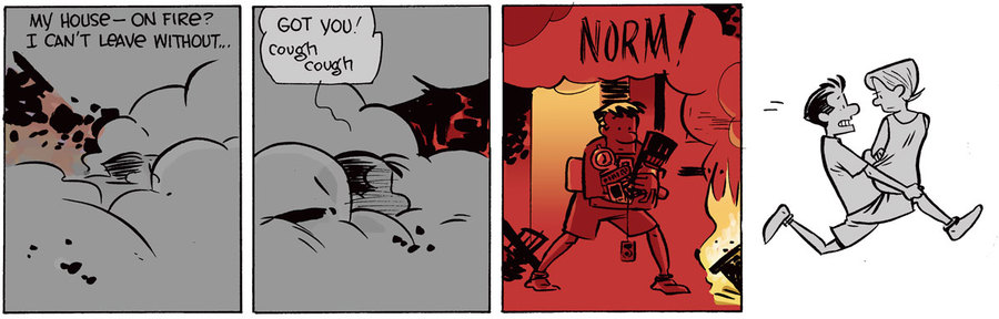 The Norm Classics Comic Strip for March 26, 2020