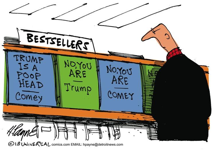 Henry Payne Comic Strip for April 22, 2018