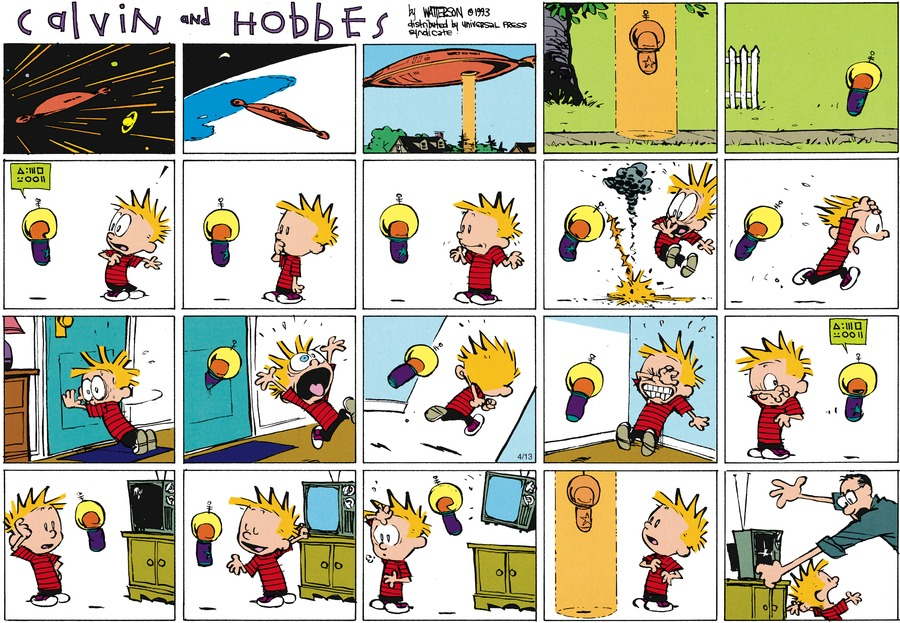 Calvin and Hobbes Comic Strip for June 02, 2013