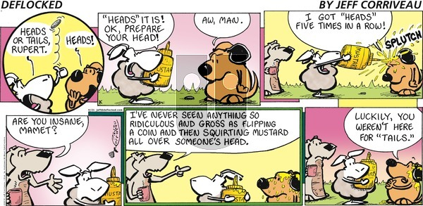 DeFlocked on Sunday April 21, 2019 Comic Strip