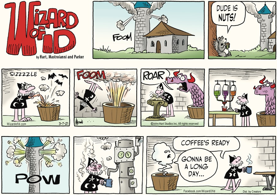 Wizard of Id Comic Strip for March 07, 2021