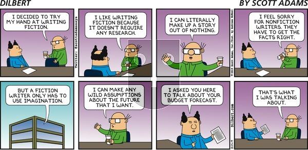 Dilbert - Sunday August 25, 2019 Comic Strip