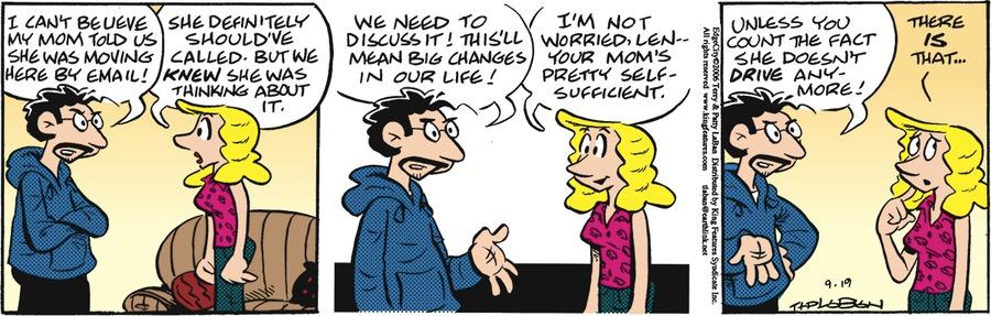 Edge City Comic Strip for September 19, 2021