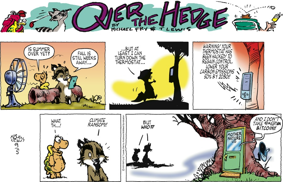 Over the Hedge Comic Strip for September 05, 2021
