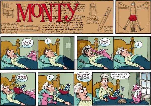 Monty on Sunday January 29, 2012 Comic Strip