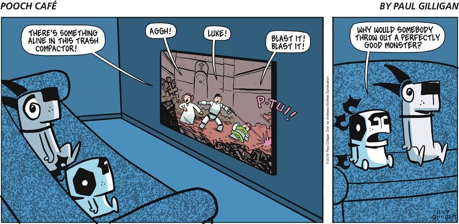 Pooch Cafe Comic Strip for November 17, 2019