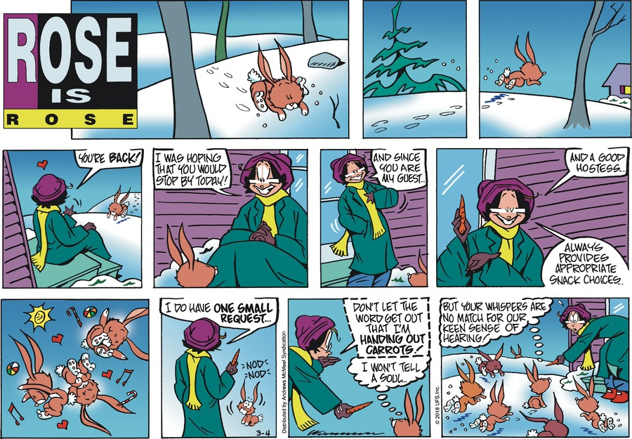 Rose is Rose Comic Strip for March 04, 2018