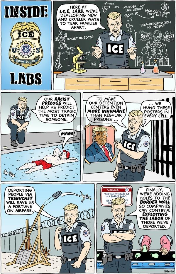 Brian McFadden - Sunday January 21, 2018 Comic Strip