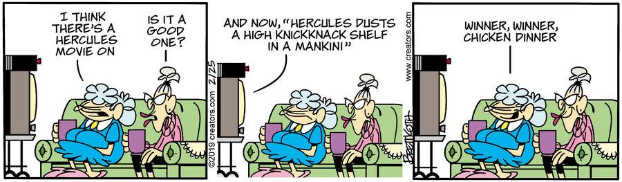 Diamond Lil Comic Strip for February 25, 2019