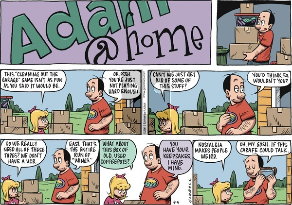 Adam@Home on Sunday September 4, 2016 Comic Strip