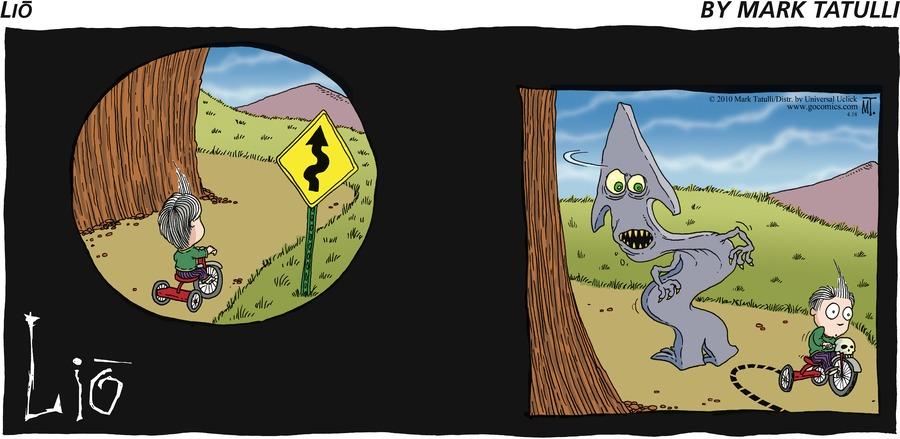 Lio for Apr 18, 2010 Comic Strip