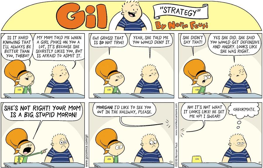 Gil Comic Strip for November 15, 2020