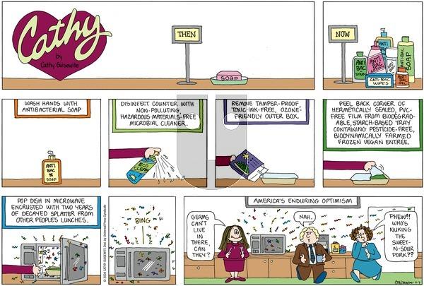 Cathy on Sunday November 7, 2004 Comic Strip