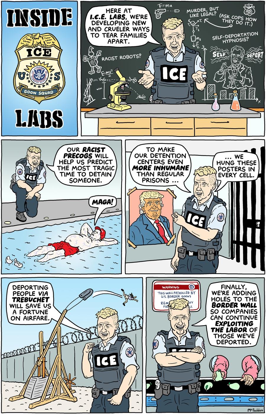 Brian McFadden for Jan 21, 2018 Comic Strip