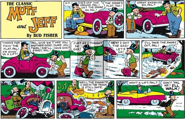 Mutt & Jeff on Sunday May 17, 2020 Comic Strip