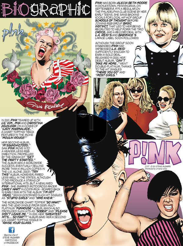Biographic on Sunday February 27, 2011 Comic Strip