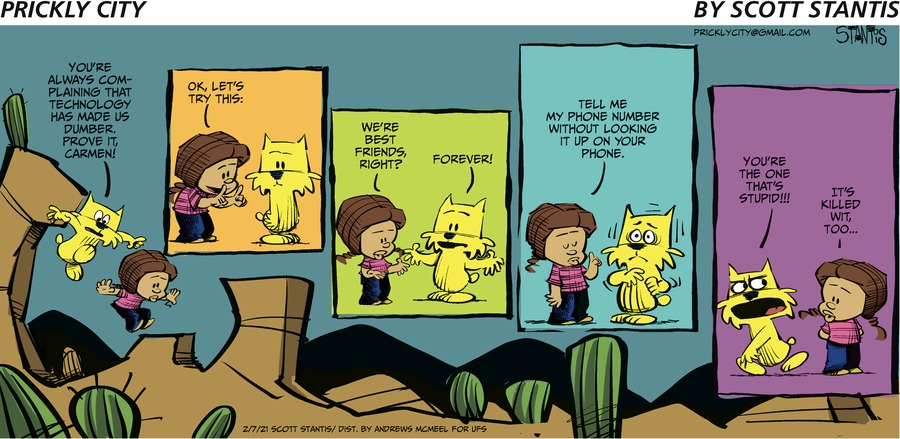 Prickly City Comic Strip for February 07, 2021