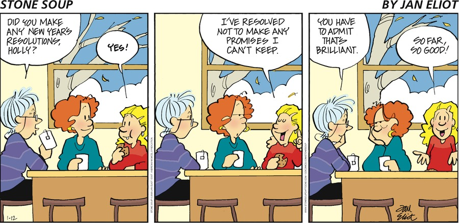 Stone Soup Comic Strip for January 12, 2020