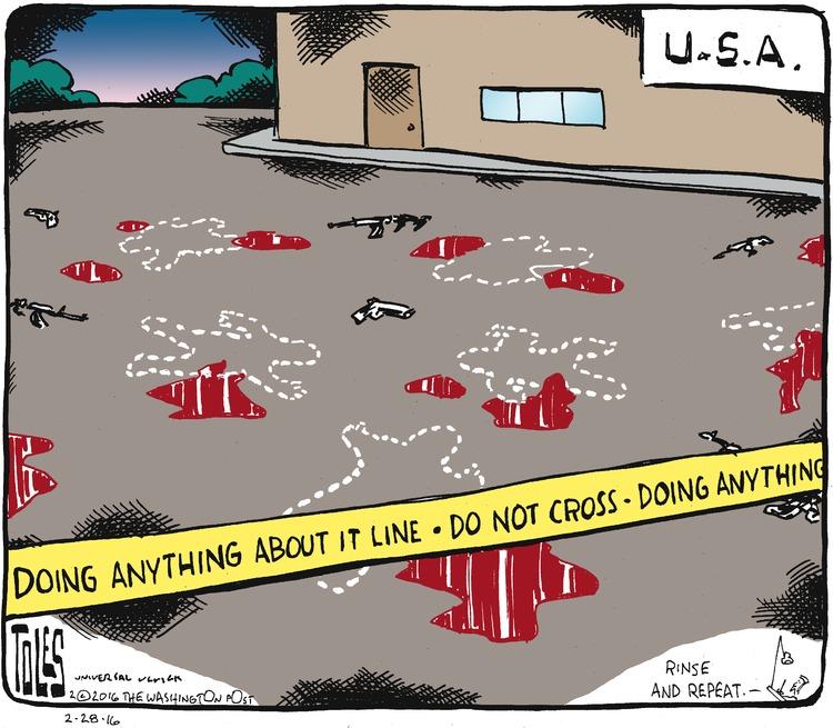 Tom Toles Comic Strip for February 28, 2016