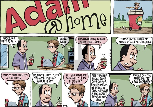 Adam@Home on Sunday March 18, 2018 Comic Strip