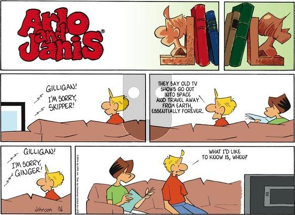 Arlo and Janis on Sunday July 6, 2014 Comic Strip
