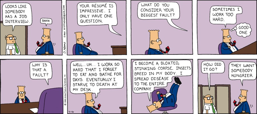 Dilbert Classics Comic Strip for March 17, 2019