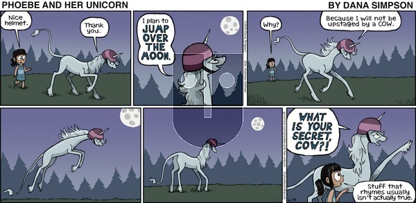 Phoebe and Her Unicorn on Sunday June 14, 2020 Comic Strip