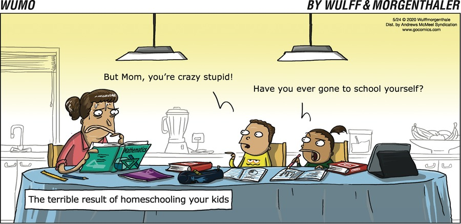 WuMo Comic Strip for May 24, 2020