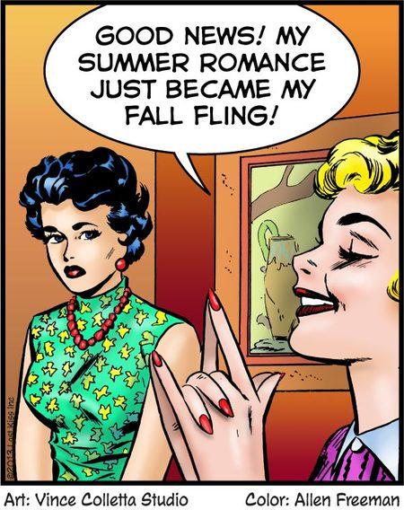 Last Kiss for Sep 20, 2013 Comic Strip