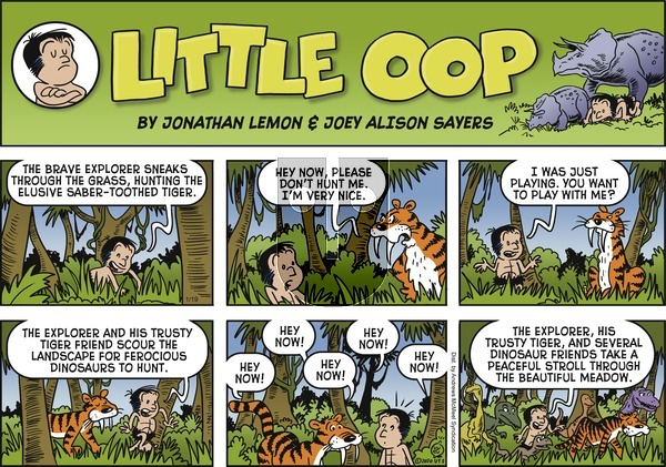 Alley Oop - Sunday January 19, 2020 Comic Strip