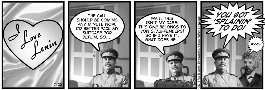 New Adventures of Queen Victoria Comic Strip for July 22, 2019