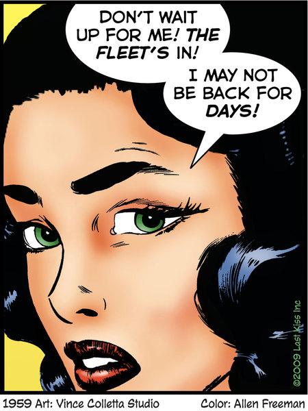Last Kiss for Nov 10, 2017 Comic Strip