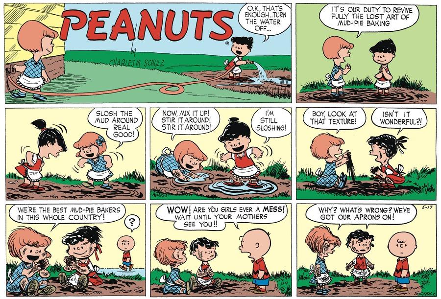 Peanuts Begins Comic Strip for May 15, 2021