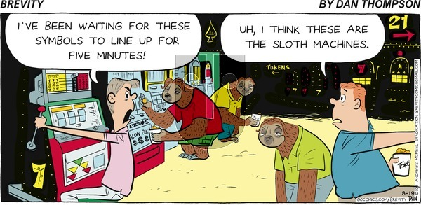 Brevity on Sunday August 19, 2018 Comic Strip
