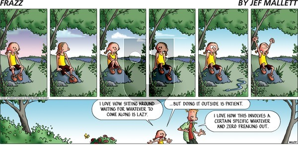 Frazz on Sunday July 12, 2020 Comic Strip