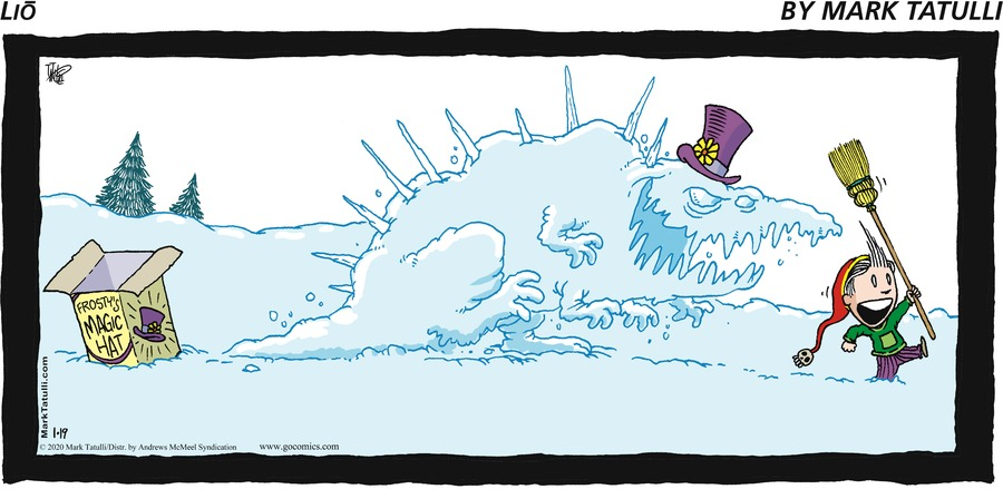 Lio Comic Strip for January 19, 2020