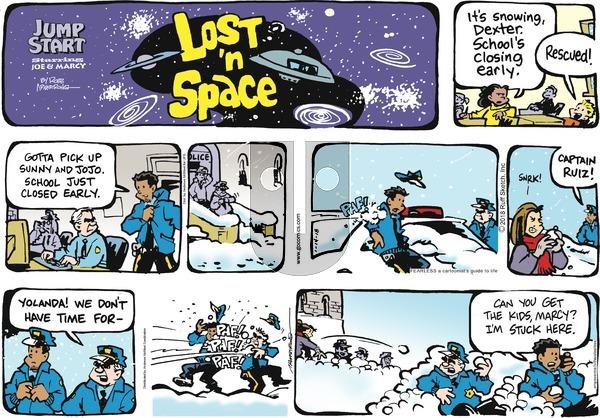 JumpStart on Sunday January 14, 2018 Comic Strip