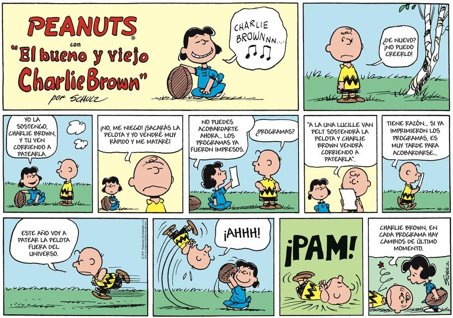 Snoopy en Español by Charles Schulz on Sun, 10 Oct 2021