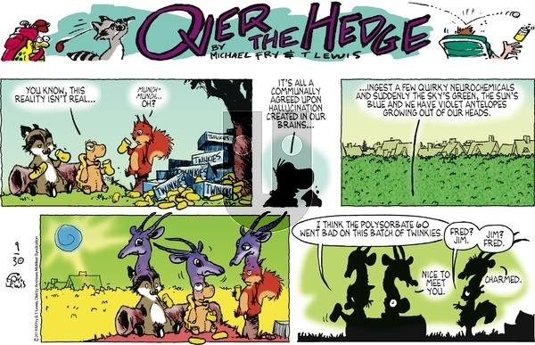 Over the Hedge on Sunday September 30, 2018 Comic Strip