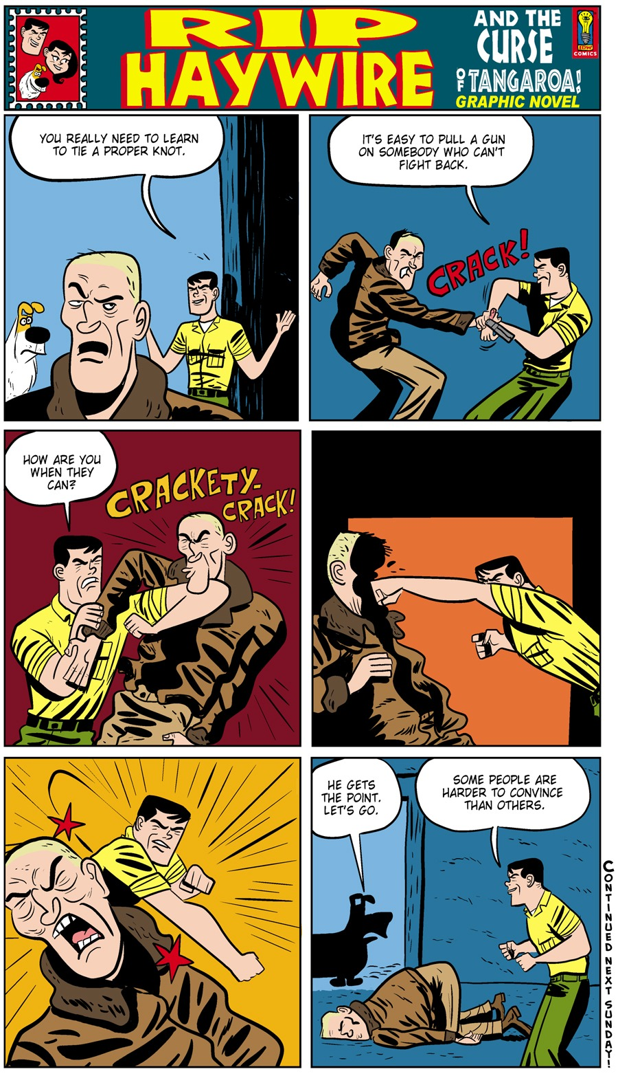 Rip Haywire Comic Strip for September 01, 2013