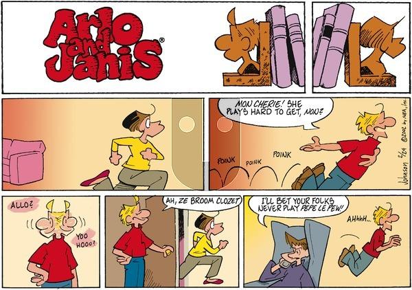 Arlo and Janis on Sunday February 24, 2002 Comic Strip