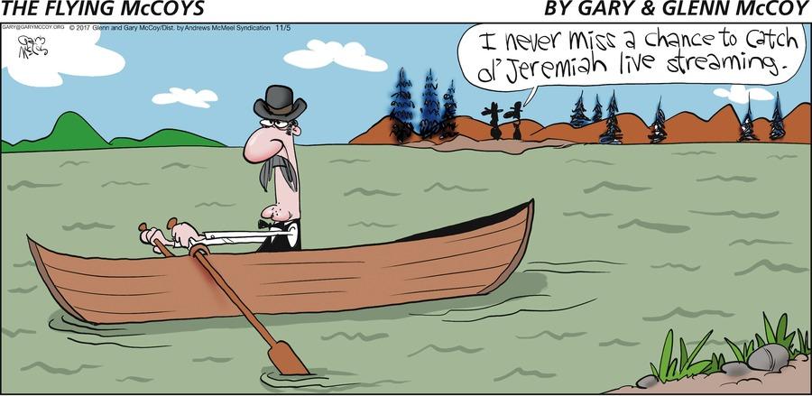 The Flying McCoys Comic Strip for November 05, 2017