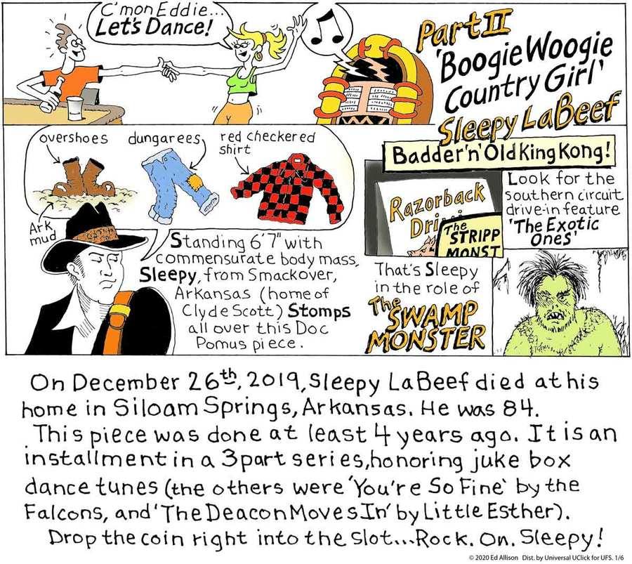 Unstrange Phenomena Comic Strip for January 06, 2020