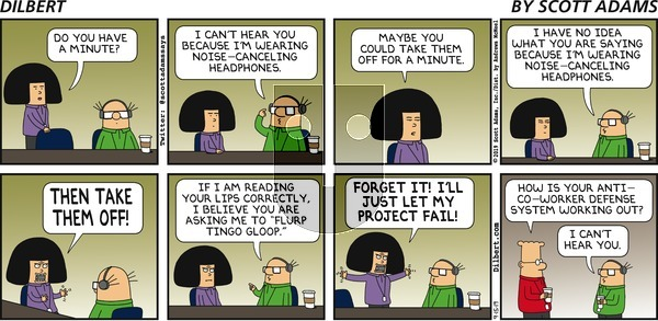 Dilbert on Sunday September 15, 2019 Comic Strip