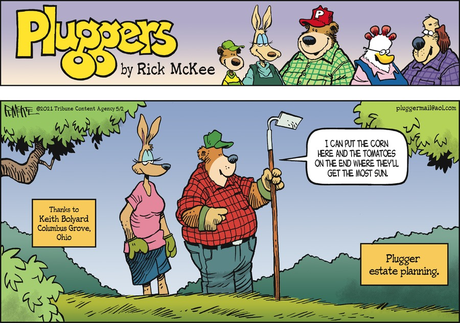 Pluggers by Rick McKee on Sun, 02 May 2021