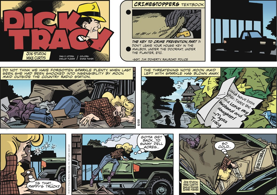Dick Tracy for Jun 9, 2013 Comic Strip