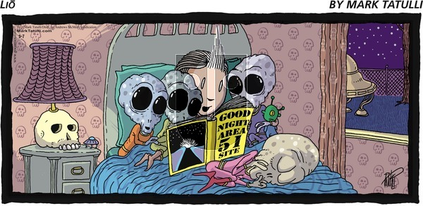 Lio - Sunday March 7, 2021 Comic Strip