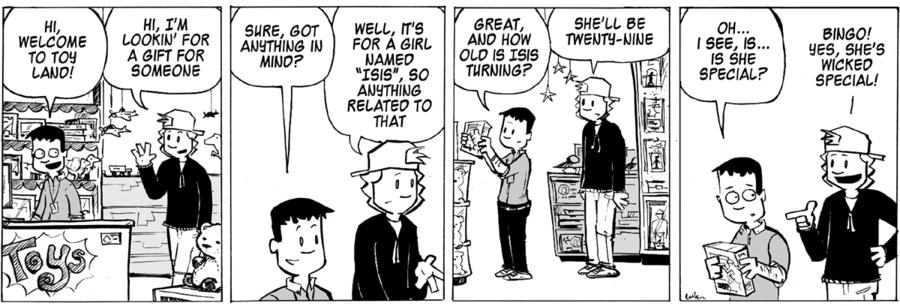 Ordinary Bill for Feb 19, 2014 Comic Strip