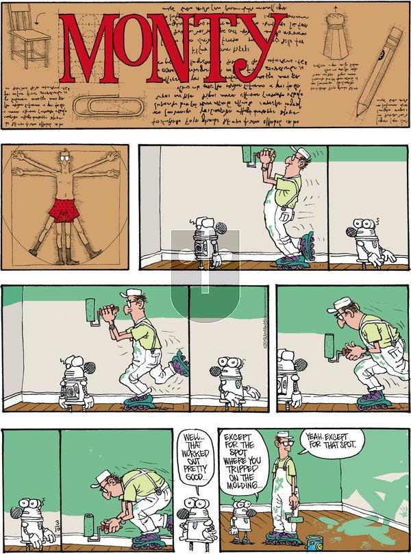 Monty on Sunday March 10, 2019 Comic Strip
